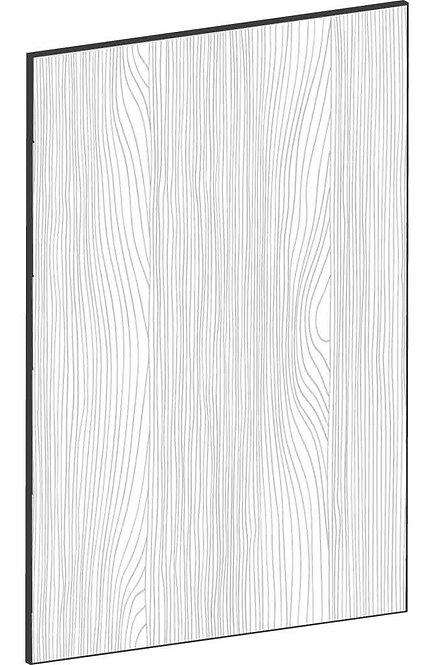 FLAT OAK - B40 x H60 cm, Skåplucka väggskåp MEB525