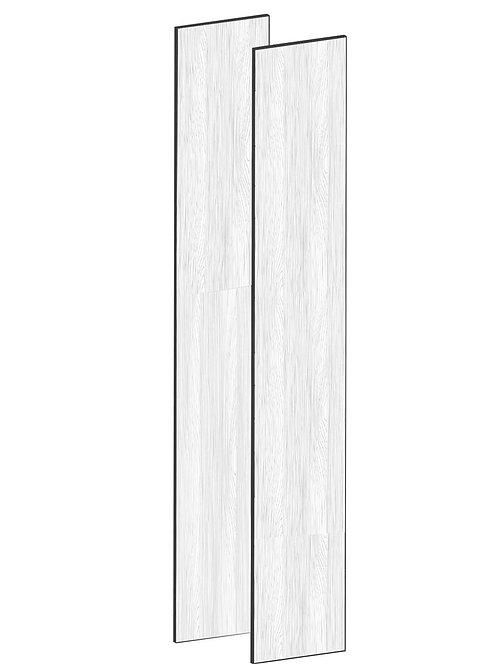 FLAT OAK - B75 x H230 cm (2 x 37 cm) Dörr, MEB491