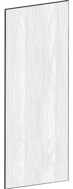 FLAT OAK - B39,8 x H105 cm, Täcksida väggskåp, MEB464