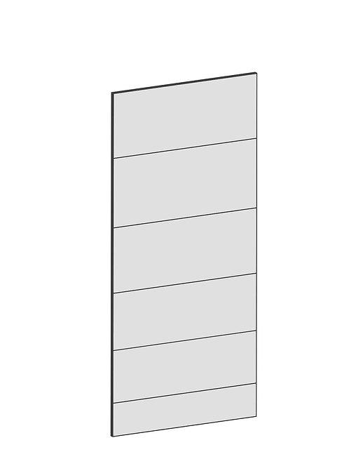 RAW OAK - B39,8 x H88 cm, Täcksida bänkskåp, MEB142
