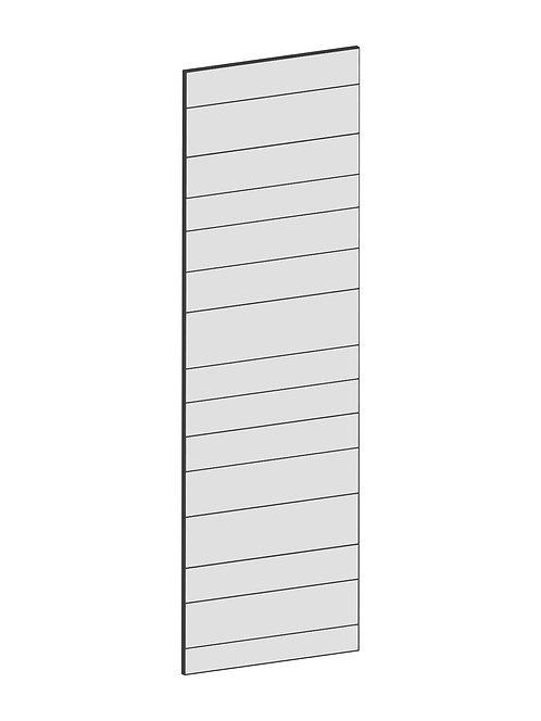RAW OAK - B62,2 x H200 cm, Täcksida högskåp, MEB154