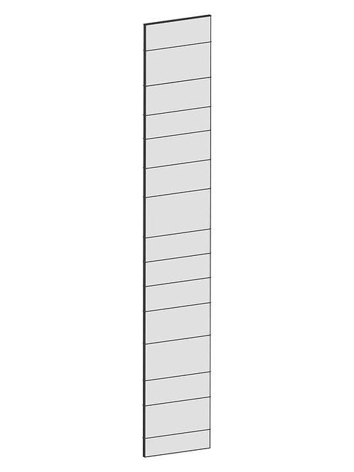 RAW OAK - B39,8 x H240 cm, Täcksida högskåp, MEB150