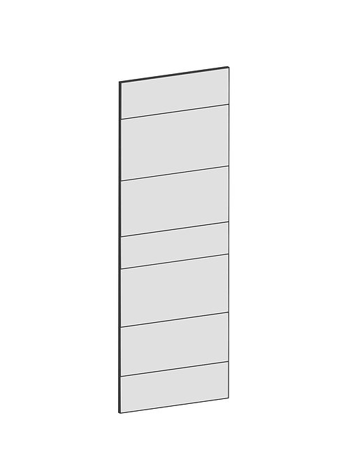 RAW OAK - B30 x H85 cm*, Skåplucka väggskåp MEB105