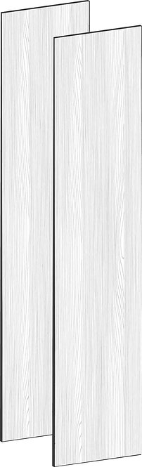 FLAT OAK - B100 x H230 cm (2 x 50 cm), Dörr MEB493