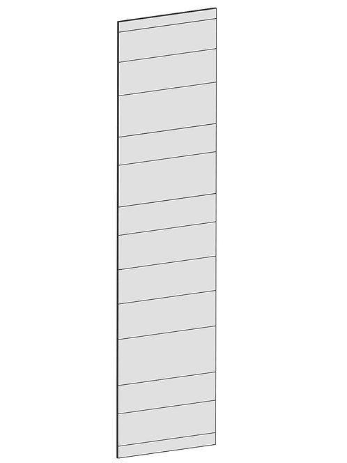RAW OAK - B39,8 x H165 cm, Täcksida väggskåp, MEB167