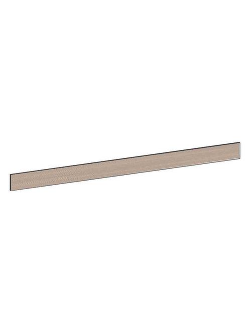 Sockel, slät valnöt. Välj längd. 120 cm, MEB769.