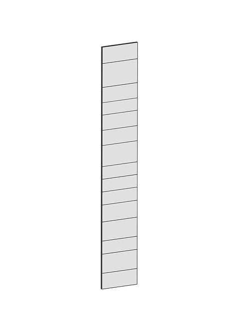 RAW OAK - B37 x H236 cm,Täcksida Pax, MEB199