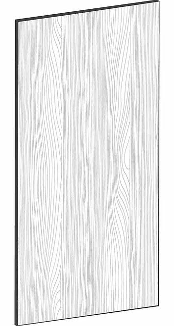 FLAT OAK - B30 x H60 cm, Skåplucka väggskåp MEB524