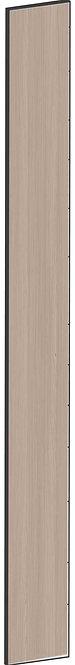 FLAT WALNUT - B20 x H200 cm, Passbit MEB785