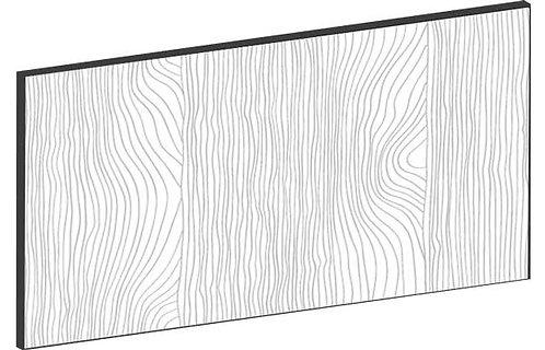 FLAT OAK - B40 x H20 cm, Lådfront MEB433