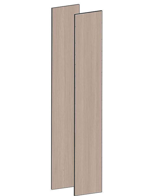 FLAT WALNUT - B75 x H230 cm (2 x 37 cm) Dörr, MEB791
