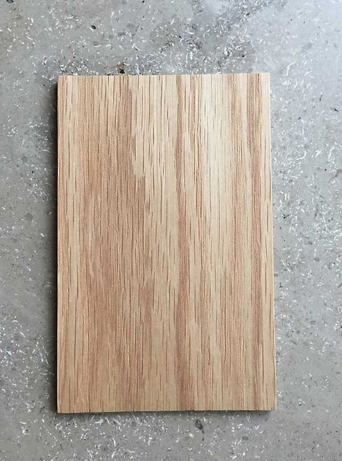 Materialprov Flat Oak, matt lack