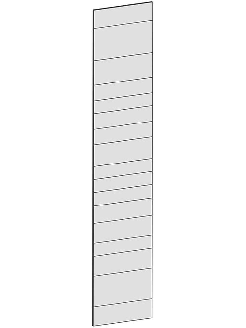 RAW OAK - B60 x H300 cm, Täcksida Pax, MEB204
