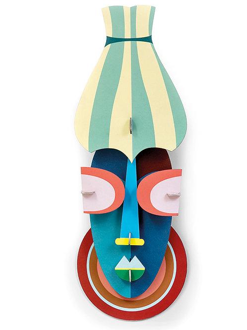 Walldecoration, Manhattan Mask