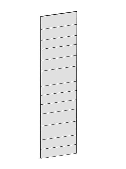 RAW OAK - B60 x H220 cm, Skåplucka högskåp MEB126