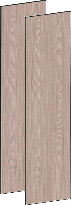 FLAT WALNUT - B100 x H195 cm (2 x 50 cm), Dörr,  MEB792