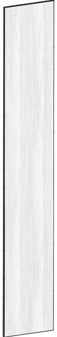FLAT OAK - B39,8 x H240 cm, Täcksida högskåp, MEB450