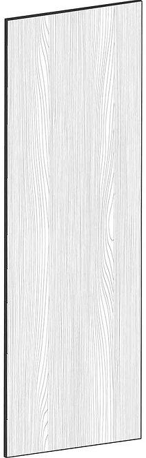 FLAT OAK - B60 x H180 cm, Skåplucka högskåp vitvara MEB430