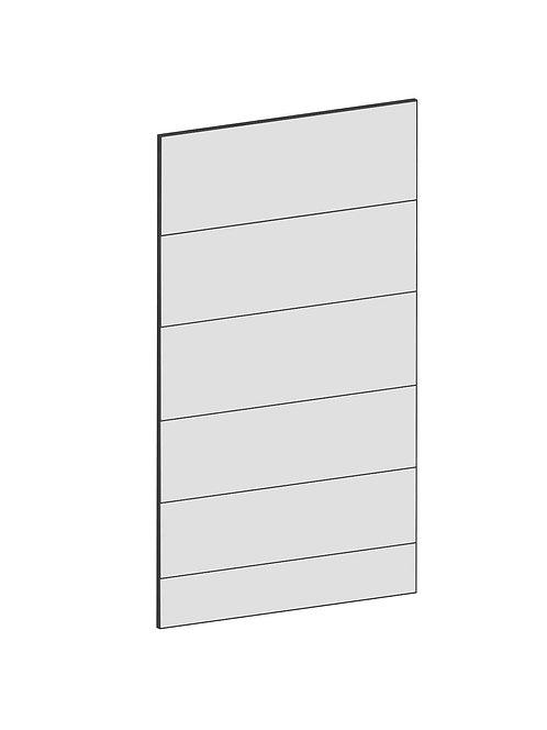 RAW OAK - B45 x H80 cm, Skåplucka IKEA Diskmaskin, bänkskåp MEB121
