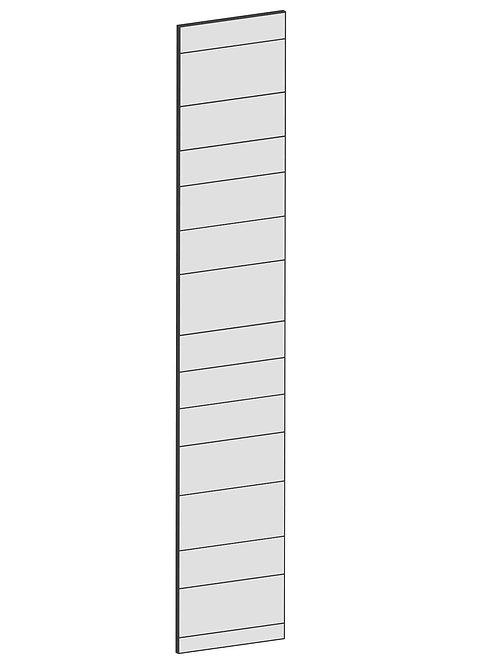 RAW OAK - B40 x H220 cm, Skåplucka högskåp MEB125