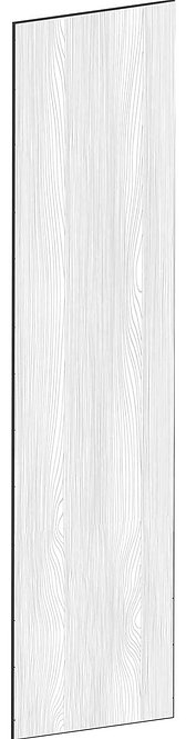 FLAT OAK - B39,8 x H165 cm, Täcksida väggskåp, MEB467