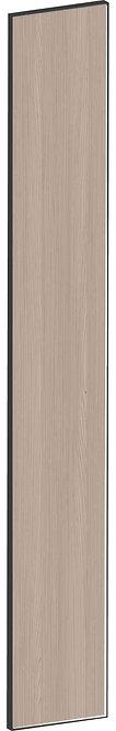 FLAT WALNUT - B20 x H140 cm, Passbit MEB784
