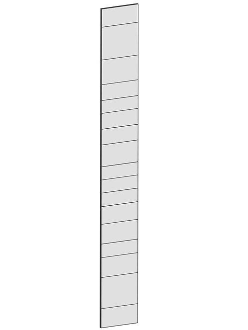 RAW OAK - B37 x H300 cm, Täcksida Pax, MEB203