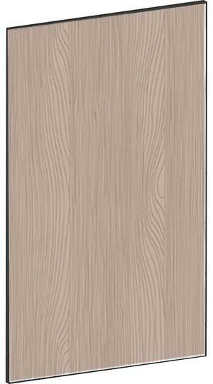 FLAT WALNUT - B60 x H100 cm, Skåplucka högskåp, vitvara MEB727