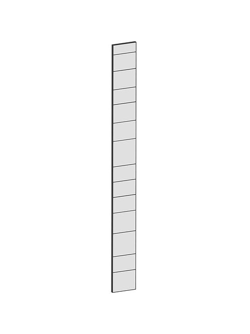 RAW OAK - B20 x H200 cm, Passbit MEB185