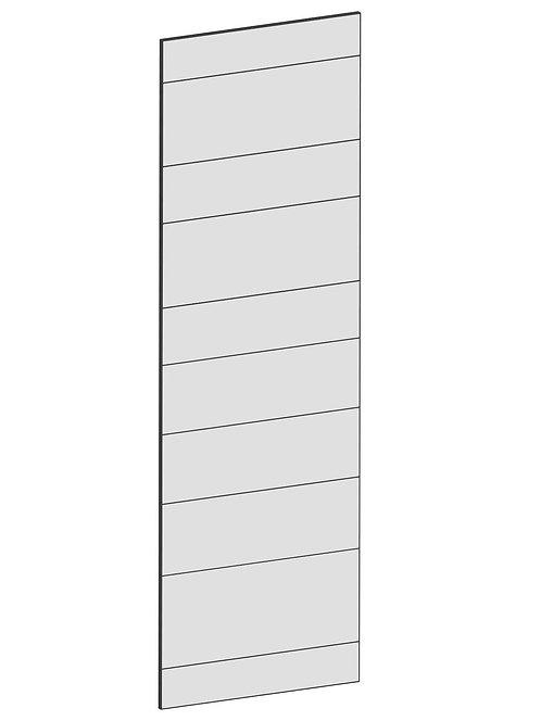 RAW OAK - B39,8 x H125 cm, Täcksida väggskåp, MEB165