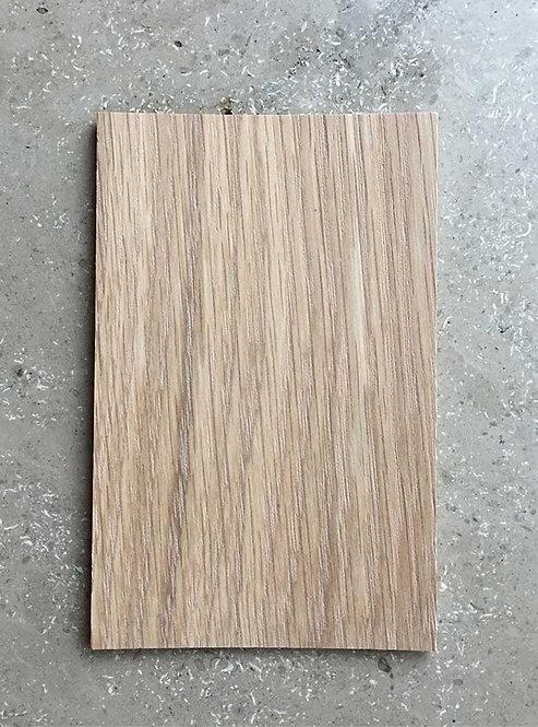 Materialprov Flat Oak, hårdvaxolja