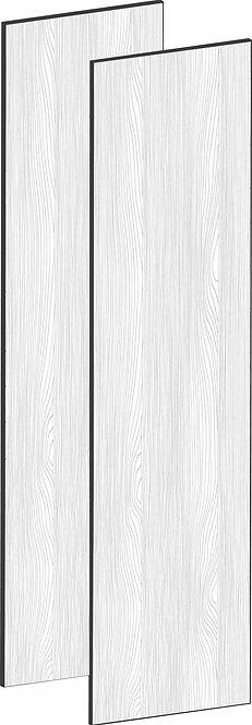 FLAT OAK - B100 x H195 cm (2 x 50 cm), Dörr,  MEB492