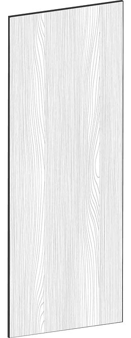 FLAT OAK - B40 x H100 cm, Skåplucka väggskåp MEB531