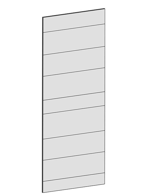 RAW OAK - B40 x H100 cm, Skåplucka väggskåp MEB231