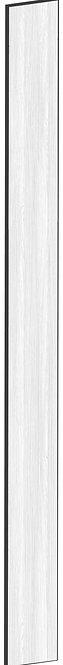 FLAT OAK - B20 x H240 cm, Passbit MEB487