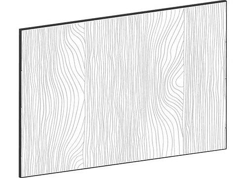 FLAT OAK - B60 x H45 cm*, Skåplucka väggskåp MEB523