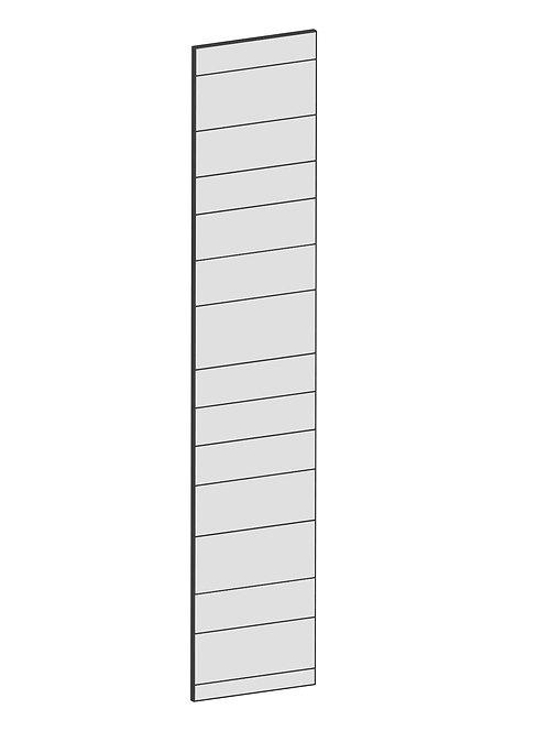 RAW OAK - B40 x H200 cm, Skåplucka högskåp MEB123