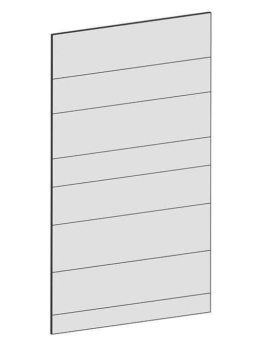 RAW OAK - B60 x H105 cm*, Skåplucka väggskåp MEB109
