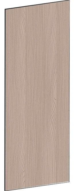FLAT WALNUT - B39,8 x H105 cm, Täcksida väggskåp, MEB764