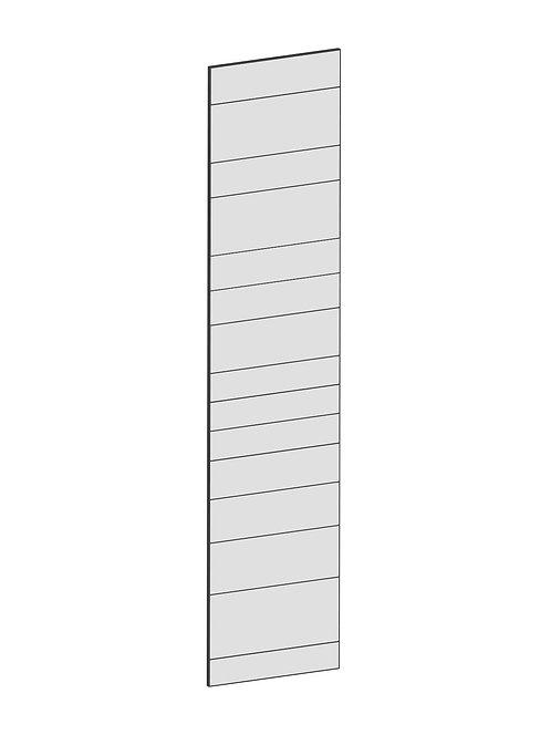 RAW OAK - B60 x H265 cm,Täcksida Pax, MEB202
