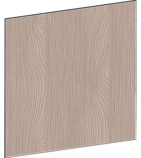 FLAT WALNUT - B99,9 x H88 cm, Täcksida köksö, MEB746