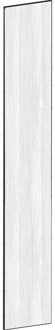 FLAT OAK - B39,8 x H248 cm, Täcksida högskåp, MEB451