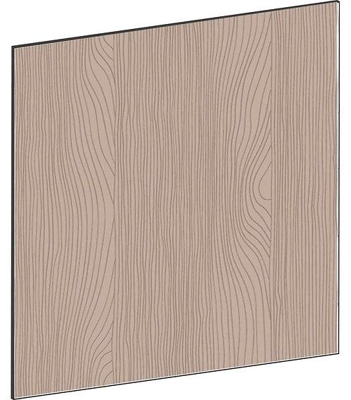 FLAT WALNUT - B67,5 x H67,5 cm, Täcksida väggskåp, MEB768
