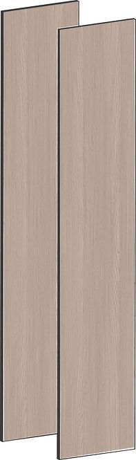 FLAT WALNUT - B75 x H195 cm (2 x 37 cm) Dörr, MEB790