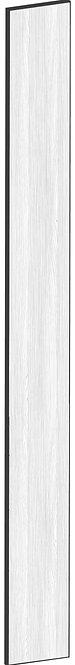FLAT OAK - B20 x H200 cm, Passbit MEB485