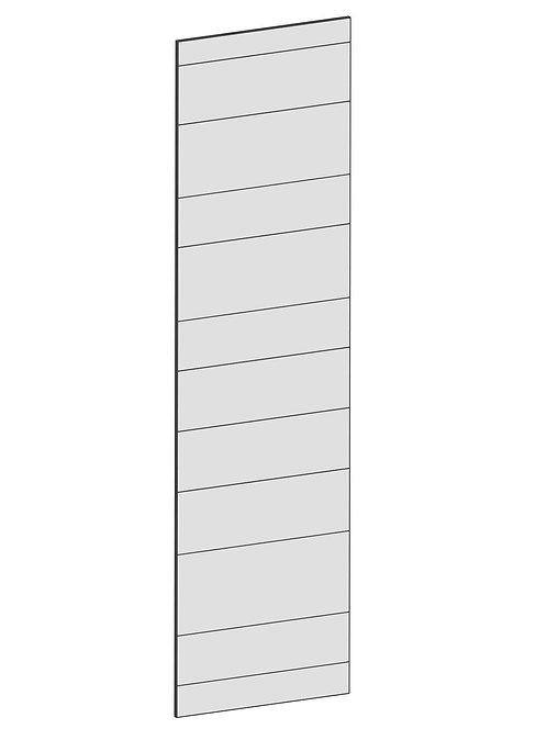 RAW OAK - B39,8 x H145 cm, Täcksida väggskåp, MEB166