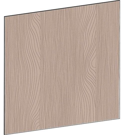 FLAT WALNUT - B122,2 x H88 cm, Täcksida köksö, MEB747