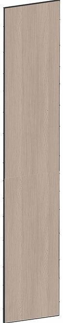FLAT WALNUT - B39,8 x H208 cm, Täcksida högskåp, MEB749