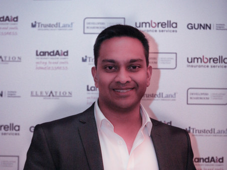 Nikhil wins Best Newcomer at the Developers Boardroom Recognition Awards