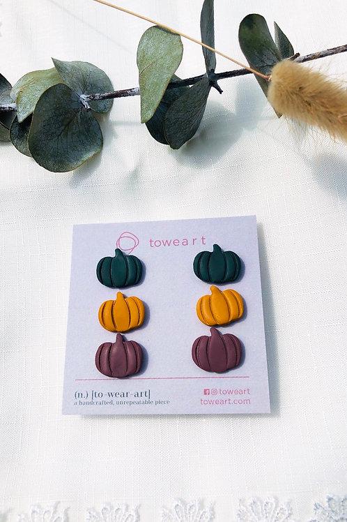Pumpkin Studs (3)